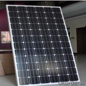10W CNBM Monocrystalline Silicon Panel for Home Using