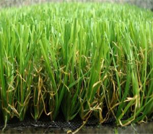 PE Monofilament & PP Curly Landscaping Artificial Grass Lawn For Garden Wedding