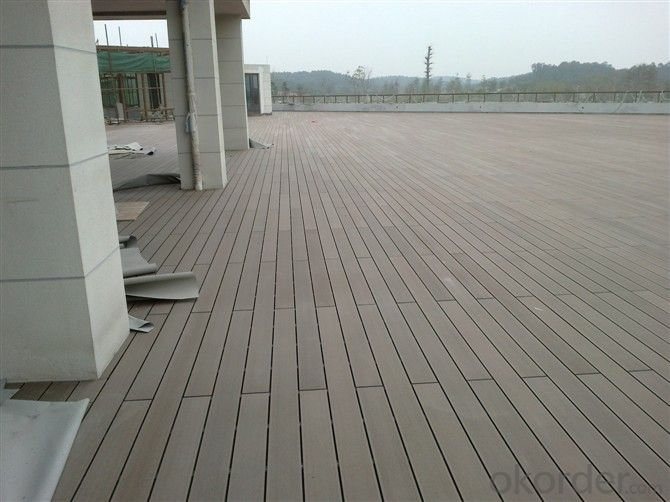 Wpc Decking Modeled On The Wood Texture in 2015