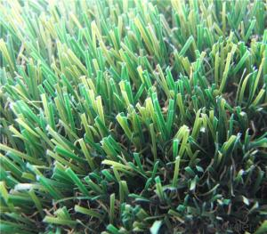 Natural Decorative Landscaping Artificial Turf  With 4color 20-50mm