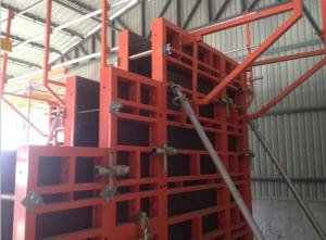 Steel Frame Formwork for High Building and Beam Construction
