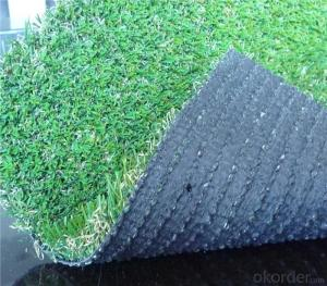 PE PP Curly Yarn Landscaping Artificial Residential Turf Lawn For Garden Courts
