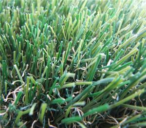 PE Monofilament & PP Curly Landscaping Artificial Grass Fake Lawn For Garden Wedding