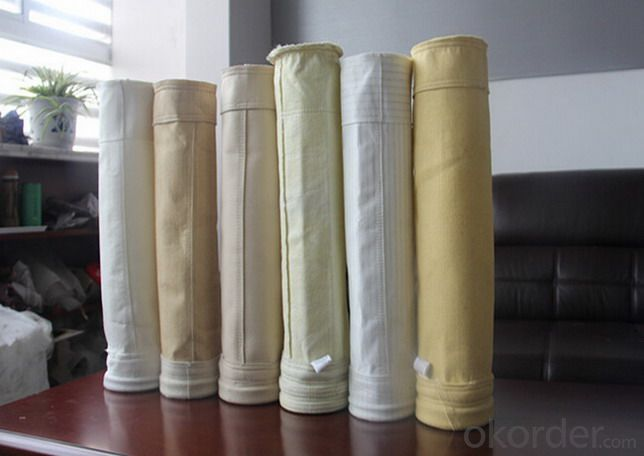 Polypropylene PP Dust filter bag DPP /PE Non-Woven Waste Water Treatment Filter Bagust Collector