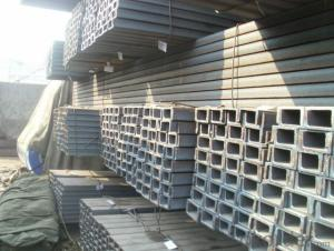 U Channel Hot Rolled Steel Made In China GB JIS EN DIN