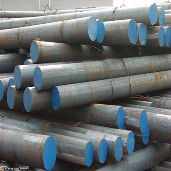 Cr12 Steel Round Bars D3 Galvanized Round Bars Din1.2080 Tool Steel