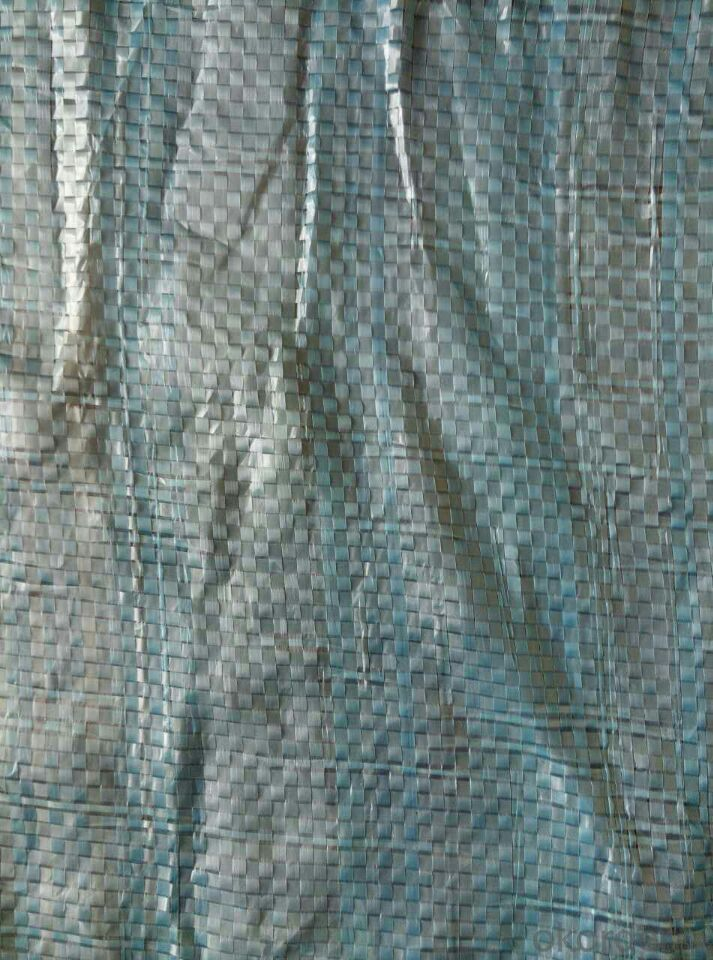 PE Tarpaulin with PP Rope and Aluminum Eyelet