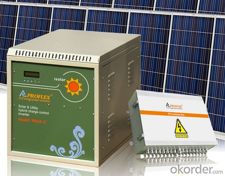 Sun Power Off Grid System 300W Design Backup Time 5-6Hrs
