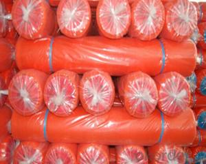 Scaffolding Net  Safety Net Construction Fence Orange Color   For South American Market