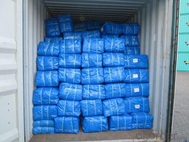Tarpaulin Cover Polyethylene Woven Fabric Waterproof
