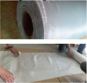 White 1200gsm Glassfiber Non-bonded Needled Mat Fiberglass From China
