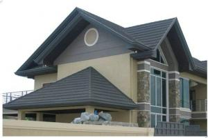 Insulated Colorful Stone Coated Metal Roof Tile
