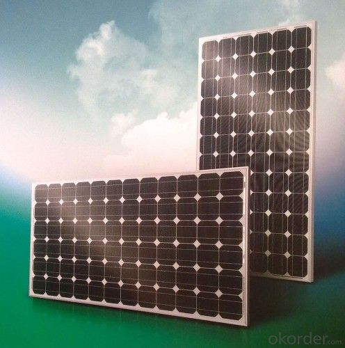 Gallium-doped monocrystalline PV modules 200W