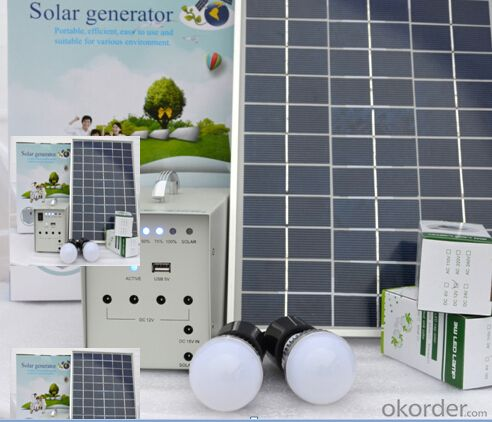 CNBM Solar Home System Roof System Capacity-30W