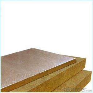 Buy 50mm rock wool heat insulation board stone wool tube for Mineral wool board insulation price