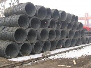Low Carbon Hot Rolled Steel Wire Rod in Coil