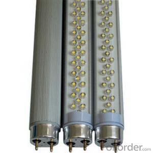 LED TUBE LIGHT 10W 60CM RA>70 PF 0.6 AC85-265 INPUT VOLTAGE  GLASS