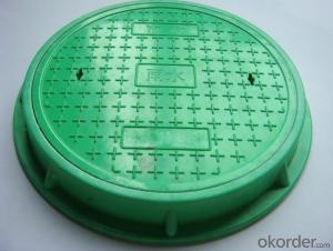 Manhole Covers Ductile Iron Heavy Duty Round GGG50 DI