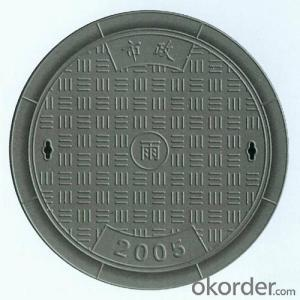 Manhole Covers Ductile Iron GGG50 D400 DI