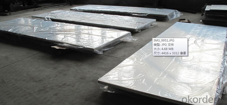 Magnesium Slabs with size 380mm x 1250mm max.