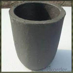 SiC Graphite Crucibles For Melting Aluminium And Copper, Brass