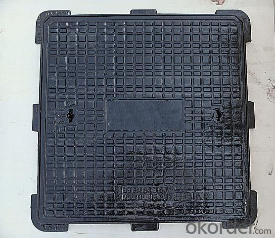 Manhole Cover Ductile Iron Cast Iron EN124 D400