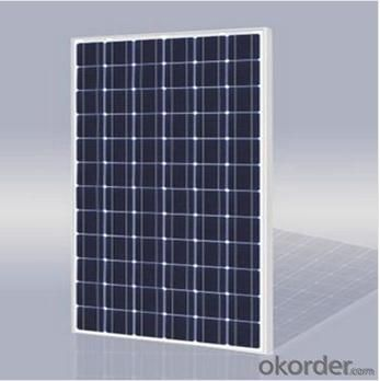 55W CNBM Polycrystalline Silicon Panel for Home Using