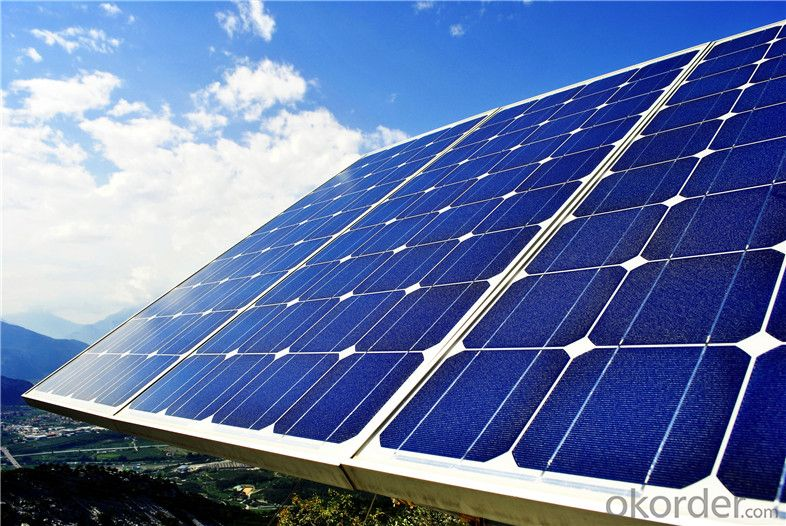 245W Solar Panels for Home Use Solar Power System