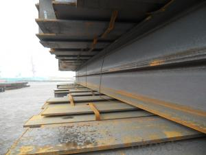 Hot Rolled Steel H-BEAM JIS SS400 GB Q235