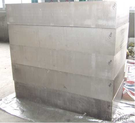 Magnesium Slabs for the Vibration Testing  Platform/Tables with size 380mm x 1250mm max.