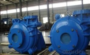 Electric Trash Centrifugal Slurry Sand Pumps