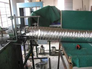 CE Marked Flexible Ducting Insulated Flexible Duct HVAC