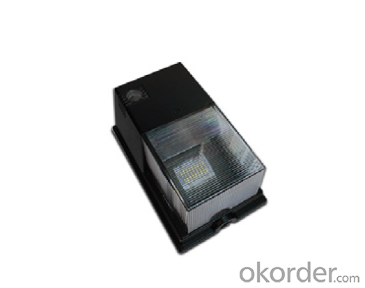 LED Mini Wall Pack Light 10 W with Three Years Warranty DLC CE