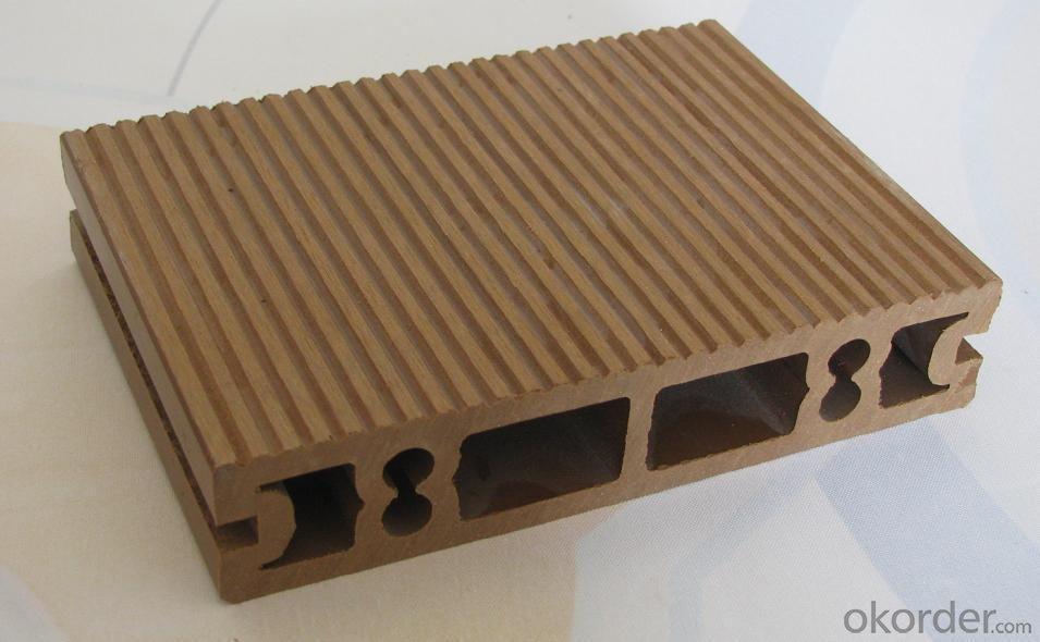 Wood Plastic Composite Wpc Decking Floor/garden Composite Deck