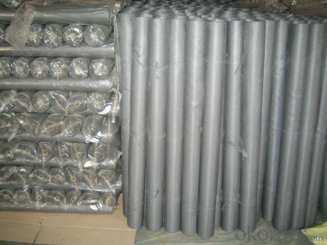 18x16 18x18 Fire Resistant PVC Plastic Coated Black Grey White Brown Fiberglass Window Screen Mesh