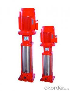 Multistage Pipeline Fire Fighting Centrifugal Pump