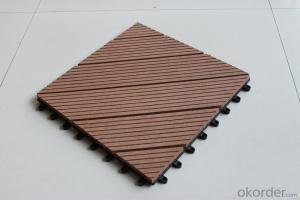 Waterproof Outdoor Floor WPC Deck/Decking/Composite Decking