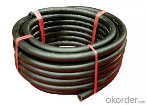 Rubber Hose/shrinking corrugated rubber retractable garden expandable hose