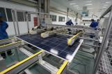 Panel solar monocristalino 230W de bajo precio fabricado en China.
