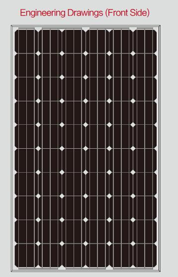 Panel solar monocristalino CNBM de 245w fabricado en China y a bajo precio