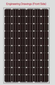 Mono Solar Panel 245w  from CNBM Solar Made In China and Low price