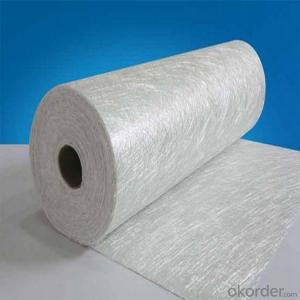 Raw Materials Reinforced Fiberglass Chop Strand Mat, Glass Fiber Fabric