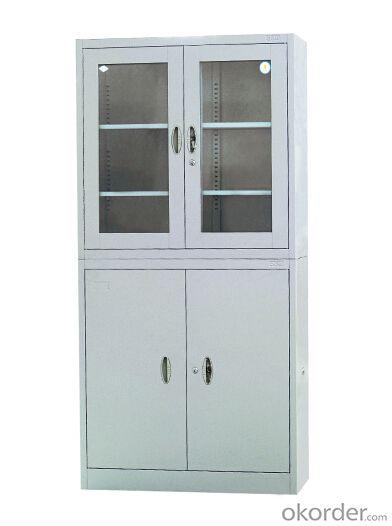 Steel Furniture with Glass Door CMAX-008