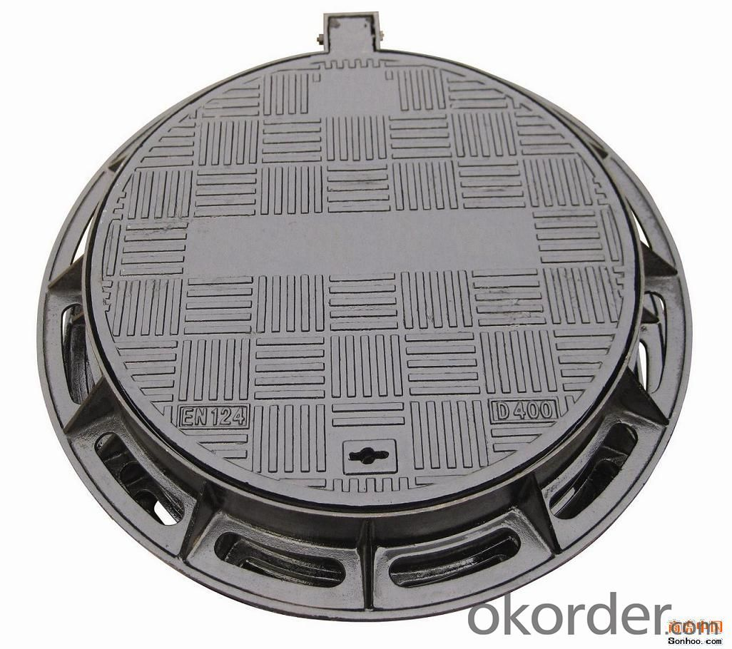 Manhole Covers Ductile Iron and Grating GGG50 B125