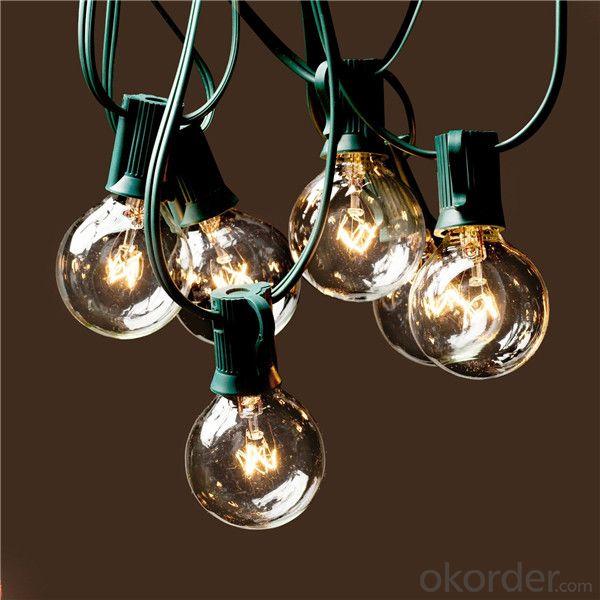 Buy Ul Listed 8m 25 Clear Bulb G40 Globe Outdoor Christmas