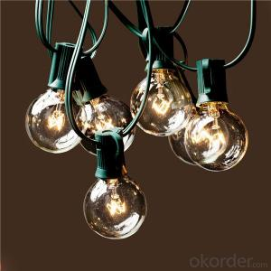Patio Mini Fairy Bulbs Outdoor Light Christmas Light Bulbs G40