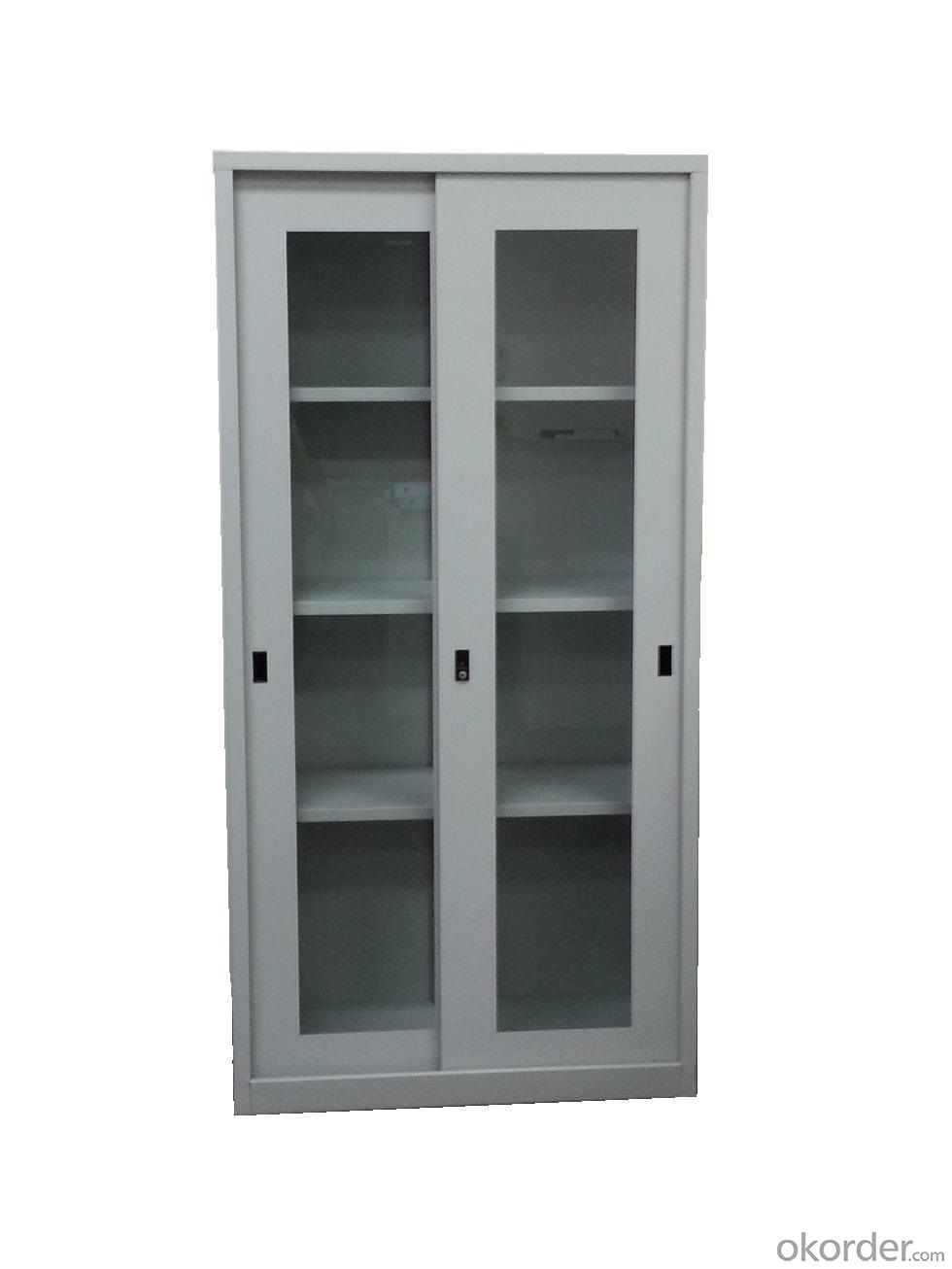 Office Cabinet Glass Door for File Storage