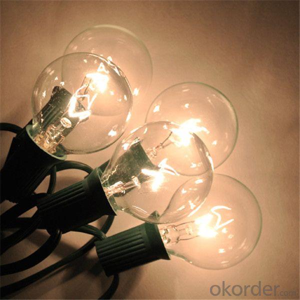 UL Certificated Decoration Light Bulbs Fairy Light Bulbs G40 Bulb String Light 110V