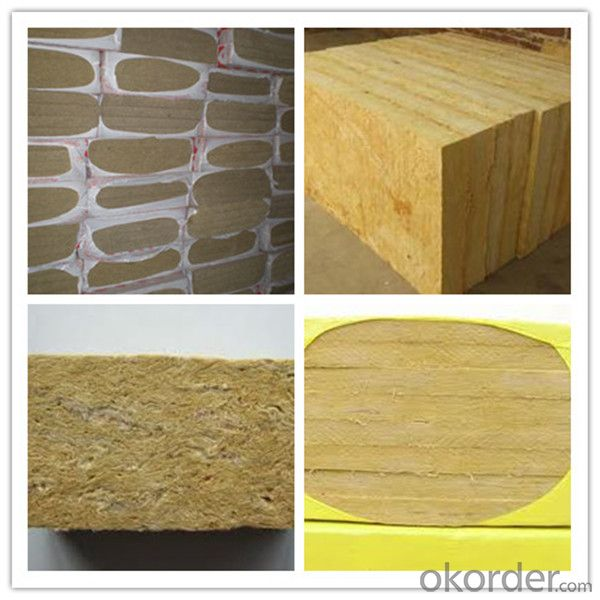 Thermal Insulation Rock Wool Board with High Quality