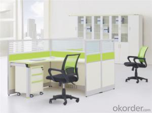 Steel and MFC Executive Desk for Two Employees